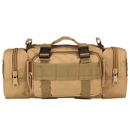 Uyuke Outdoor-Klettergürtel Taschen Militärtasche Oxford Camping Pack Wandern Gürteltaschen Kameratasche