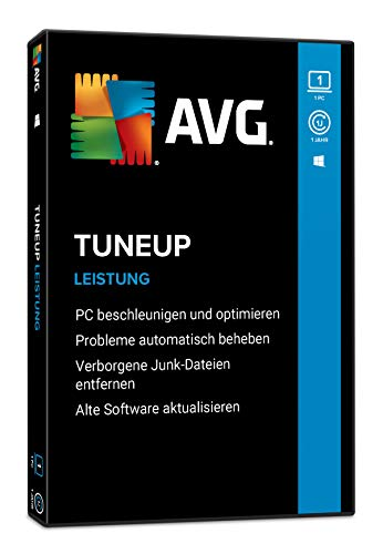 AVG TuneUp 2021, 1 Gerät, 1 Jahr, PC, Laptop, Tablet, Smartphone, Download