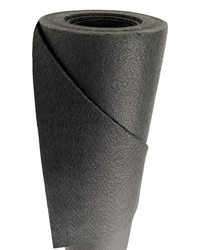 DeRiTex 150g/m² Qualitäts Unkrautvlies 37,5m² (1,5m x 25m)