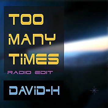 Too Many Times (Radio Edit) (Radio Edit)
