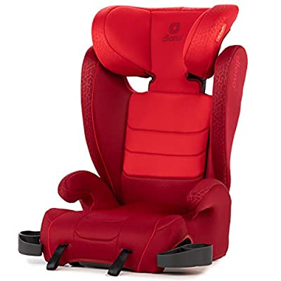 Diono Monterey XT Latch, 2-in-1 Belt Positioning Booster Seat with Expandable Height/Width, Red by AmazonUs/DIOWE