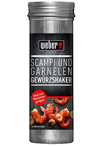 Weber Scampi und Garnelen Gewürzshaker, 90 g