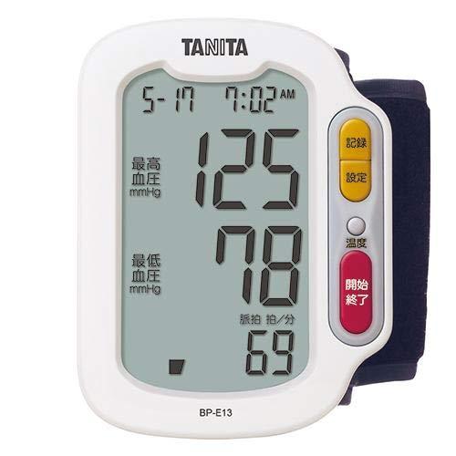 タニタ 手首式血圧計(ホワイト)TANITA BP-E13-WH