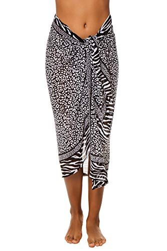 MICHAEL Michael Kors Animal Blend Pareo Cover-Up
