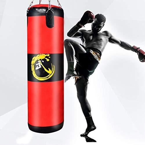 AMY-ZW Boxsack Mit Dem Berg-Kette Hängend Boxsack Trainingsstressabbau Sandbag MMA Fitness-Kampf Karate for Erwachsene for Kinder Jungen Mädchen (Size : 120cm)