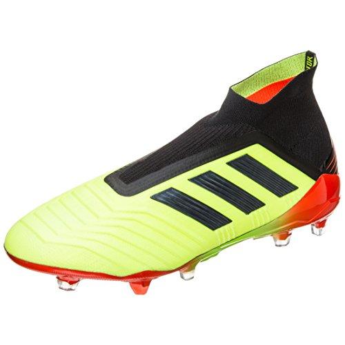 adidas Herren Predator 18+ Fg Fußballschuhe, Gelb (SYELLO/Cblack/Solred SYELLO/Cblack/Solred), 42 2/3 EU