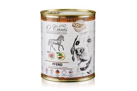 O'Canis Hundefutter Pferdefleisch mit Gemüse & Leinsamen - 400 g (400 g)