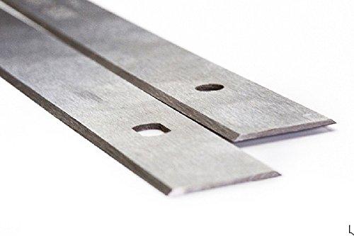 Hobelmesser, 260 x 18,6 x 1,0 mm, für Elektra Beckum HC260, Record Power PT260, Metabo HC260C, doppelschneidige Einweg-Hobelklingen