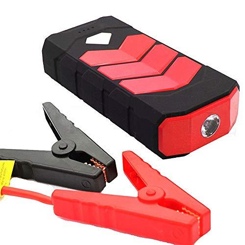 Autobatterie Jump Starter, Super Power 20000mAh Car Jump Starter Power Bank 12V Portable Starting Device Petrol Diesel-Ladegerät für Autobatterie-Booster,Red