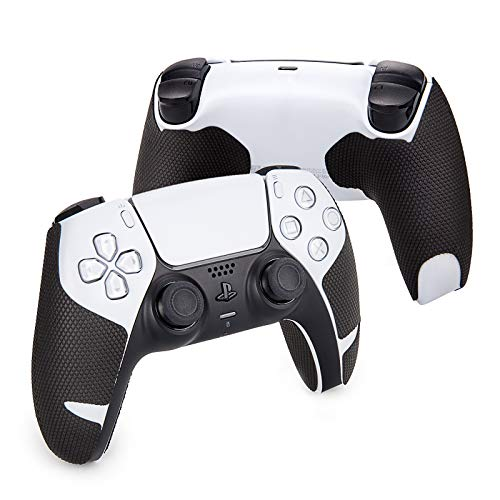 Hotline Games 2.0 Plus Controller-Griffe für Playstation 5-Controller PS5 Controllers, rutschfest, schweißabsorbierend, ausgezeichnetes Gefühl (Handle Grips (4PCS), Deutsche Version)