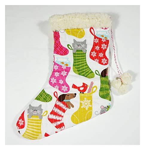 Weihnachtssocke für Tiere wie Hund, Katze, Maus (2)