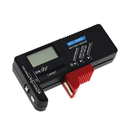 Morza BT-168D Digital-Batterie-Tester Volt Checker 9V 1.5V Knopfzelle wiederaufladbare AAA AA C D Universal-Batterietest
