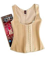 laperva Slimming Vest för kvinnor är ett bomullsfoder med latexlager ökar värmeaktiviteten för träning och snabb viktminskning, bekväm, lätt att bära, tvättbar formväst