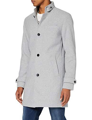 JACK & JONES PREMIUM Herren JPRBLAMELTON Wool Coat STS Mantel, Light Grey Melange, M