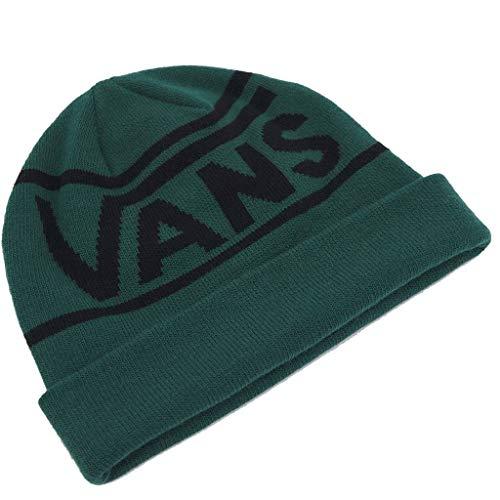 Vans Gorro (Beanie) Drop V Stripe Cuff Verde OSFA (Talla única para Todos sexos)
