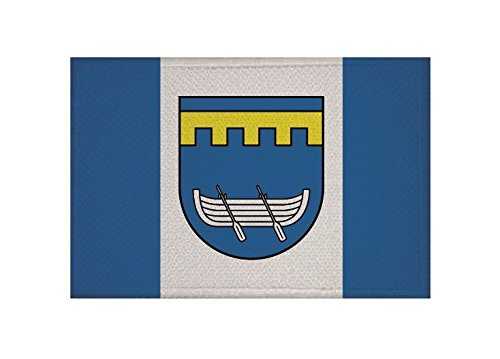 U24 Aufnäher Altefähr Fahne Flagge Aufbügler Patch 9 x 6 cm