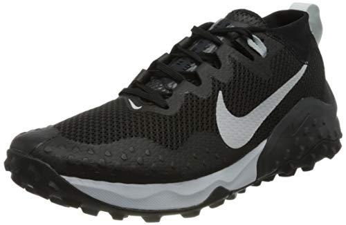 Nike Wildhorse 7, Scarpe da Corsa Uomo, Black/Pure Platinum-Anthracite, 44.5 EU