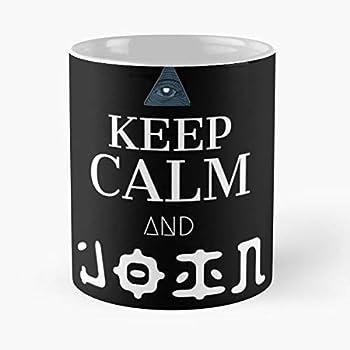 Of Confirmed Propaganda Alien 51 And Calm Area Aliens Illuminati Cult Keep Eye Keep Calm Best 11 Ounce Ceramic Coffee Mug !
