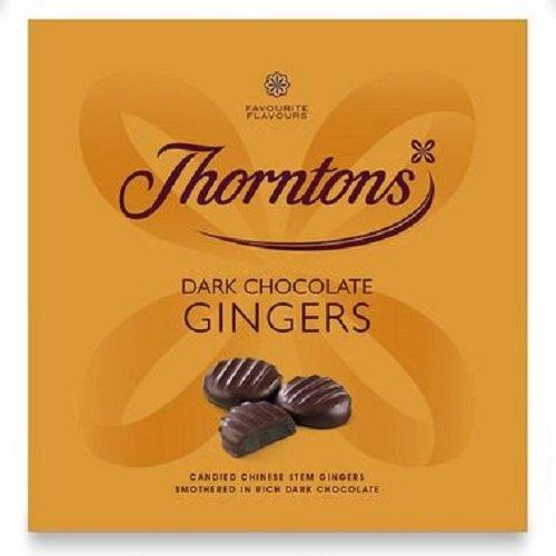 Thorntons Buio Cioccolato Gingers (Ballotin) 220grams