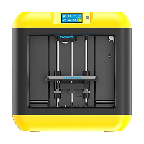 FlashForge 3D Printers Finder Lite(yellow) PLA Prints