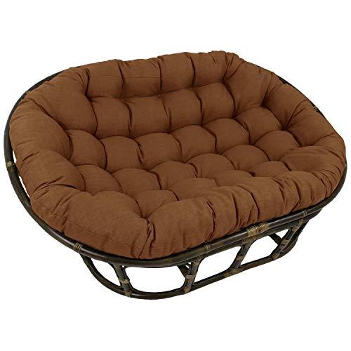 DULPLAY Double Papasan Cushion,Replacement Pads 65-inch Microsuede Caravan Papasan Not Rattan Frame for Indoor Outdoor O 65456inch