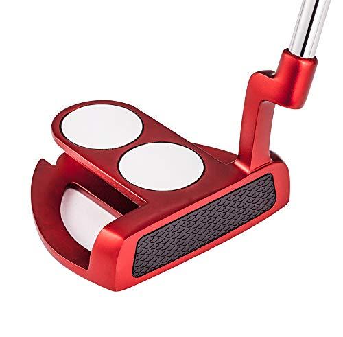 MAZEL Tour GS Men's Golf Putter,Right Handed (2 Ball-Blue Grip)