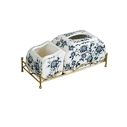 Caja de pañuelos Caja de pañuelos, caja de cajones de papel, caja de almacenamiento de caja de tejidos, oficina / papelería / caja de almacenamiento de herramientas Caja de tejido multifuncional creat