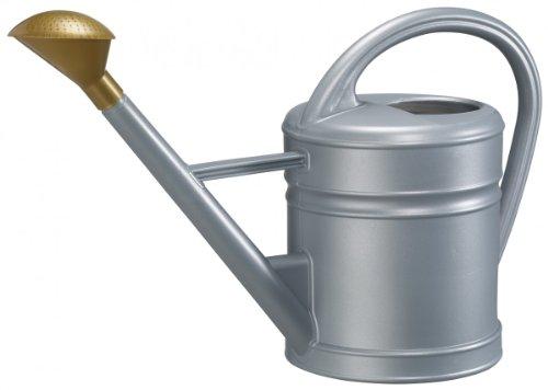 Gießkanne ANTIQUA aus Kunststoff, Farbe:zink;Inhalt:10 Liter