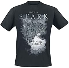 Game Of Thrones Camiseta Stark Houses
