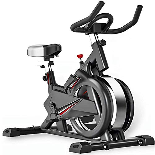 Indoor Cycling Bike, Spinning Bikes Real-life intelligente 3D-games en Ab Sporting Equipment Ideaal Cardio Trainer ultrastille hometrainers