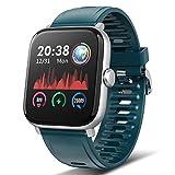 TagoBee Reloj Inteligente Smartwatch Hombre Mujer Impermeable ip67 Pantalla táctil Completa 1.54' Pulsera de Actividad Inteligente con de Caloría Monitor de Sueño Pulsómetros GPS para Android iOS
