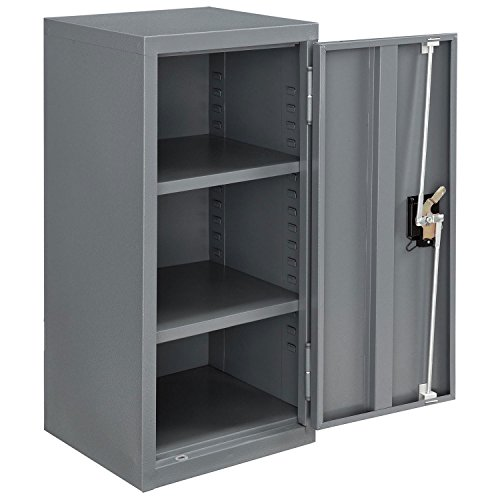 Assembled Wall Storage Cabinet, 13-3/4x12-3/4x30, Gray -  Global Industrial, 269874GY