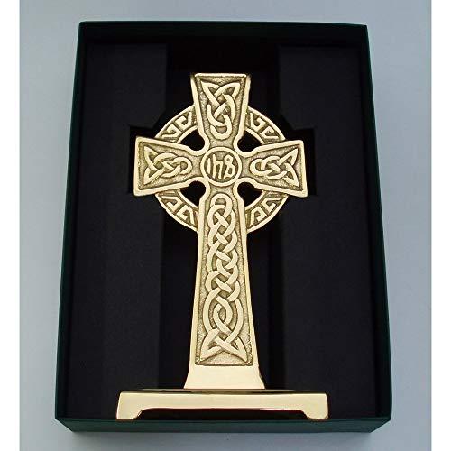Robert Emmet Medium Bronze Standing IHS Celtic Cross