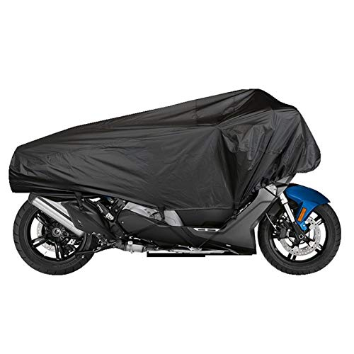RUIXINLI Cubierta de Motocicleta Cubierta de Motocicleta de Bicicleta Viaje Ready Half Cover Universal Lightweight Half Tapa Al Aire Libre Impermeable Protector de Polvo de Lluvia (Size : XL)