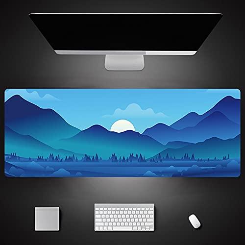 Landscape Printing Large Mouse Pad For Laptop Desk Mat Rubber Non Slip Mousepad 1000X500X3Mm