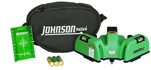 Johnson Level & Tool 40-6622 Heavy Duty Flooring Laser with GreenBrite Technology