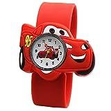 XKMY Kinder-Armbanduhr mit Cartoon-Motiv, Silikonband für Kinder, tolles Geschenk für Männer,...