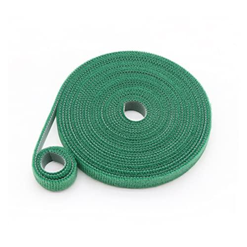 gancho y bucle 5 metros Velcros Auto adhesivo Cinta de sujetador Poliéster...