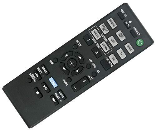 SccKcc Remote Control Compatible with Sony Multi Channel AV Receiver STR-DN1070 STRDN1070