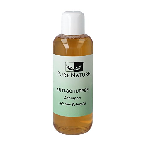 PureNature Anti-Schuppen Shampoo, Bio-Schwefel, 250 ml
