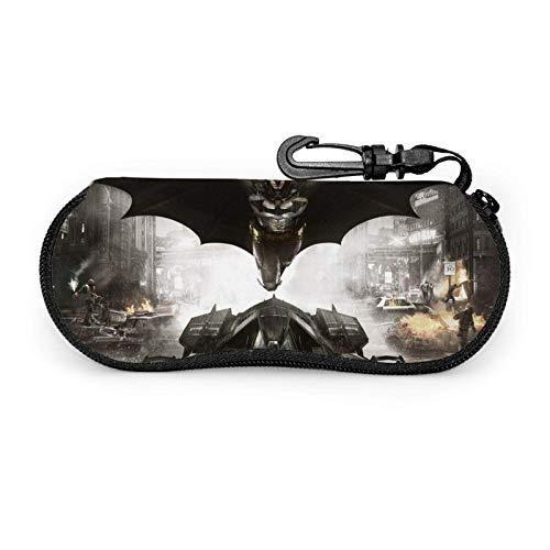 Movies B-at-m-an Eyegs Case - Funda blanda para gafas de sol (neopreno, cierre de cremallera)