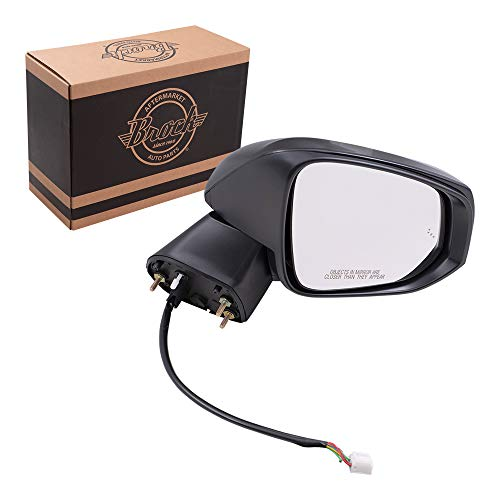 Replacement Passenger Power Side Door Mirror Heated Signal Blind Spot Detection Compatible with 2019 2020 RAV4 RAV4 Hybrid