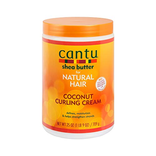 Cantu Shea Butter for Natural Hair Coconut Curling Cream 25 Ounce