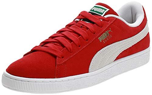 PUMA Suede Classic+, Sneaker Uomo, Rosso (Team Regal Red-White), 43 EU