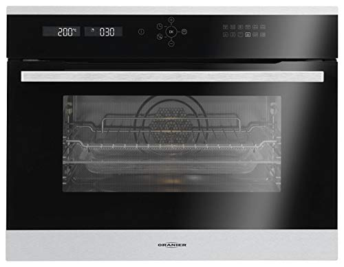 Oranier KMH 9803 12-9803 12 Four compact avec Micro-ondes Inox Noir