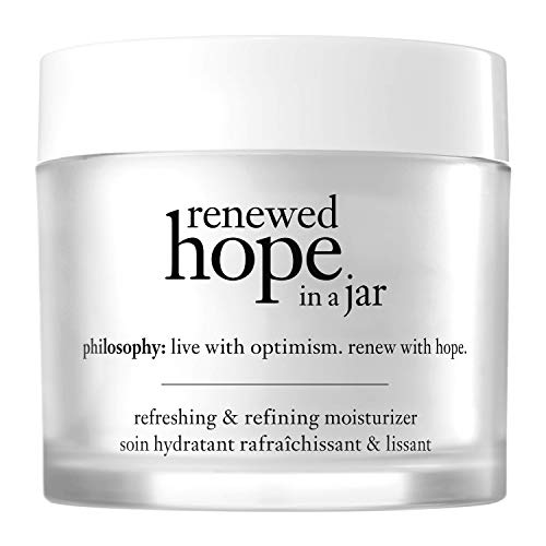 philosophy renewed hope in a jar - all-day skin-renewing moisturizer, 2 oz