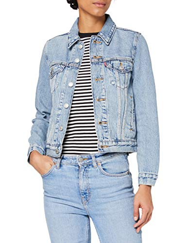 Levi's Damen Original Trucker Jeansjacke, All Mine, M