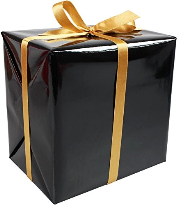 LOVLY® Cadeaupapier, 50cm, 200m, Uni´s, 677, zwart B07BSYNJYB   Förderung