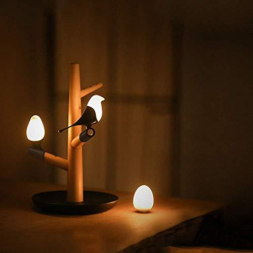 VIWIV Lámpara de Escritorio Inducción del Cuerpo Humano Control Inteligente Control de luz Toque magnético Ajuste de Tres velocidades atmósfera Luminosa luz Carga USB lámpara de Escritorio lámpara de