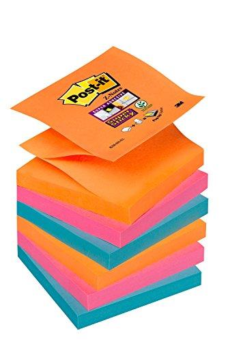 Post-It R-330-Nr – Notas Adhesivas, 6 Unidades, Multicolor (Arcoiris